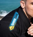 GROUND GAME Kimono do BJJ Carioca Czarne (350g)