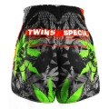 TWINS Spodenki Muay Thai TBS-GRASS Limited Edition