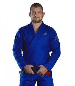 GROUND GAME Kimono do BJJ Player Niebieskie (550g)