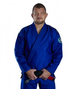 GROUND GAME Kimono do BJJ Rookie Niebieskie (450g)