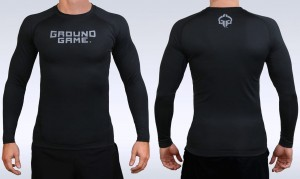 GROUND GAME Rashguard MMA Athletic Shadow