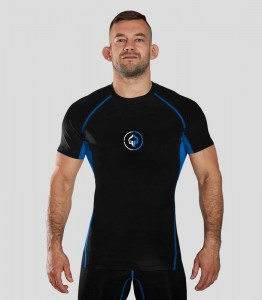 GROUND GAME Rashguard MMA Athletic 2.0 Czarny