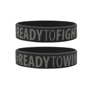 BELTOR Opaska Wristband - Ready to win Ready to fight