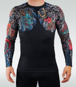 GROUND GAME Rashguard MMA Bushido 3.0