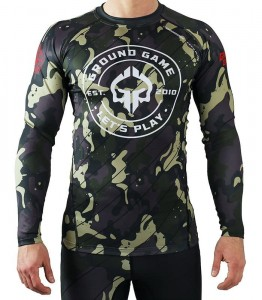 GROUND GAME Rashguard MMA Moro 3.0