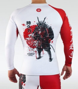 GROUND GAME Rashguard MMA Kettei