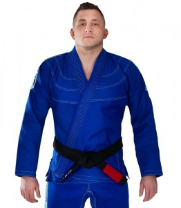 GROUND GAME Kimono do BJJ Inceptor 3.0 Niebieskie (550g)