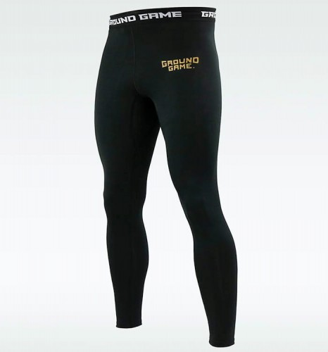GROUND GAME Legginsy Męskie Athletic Gold
